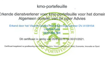Logflow is recognised by Flemish government as service provider