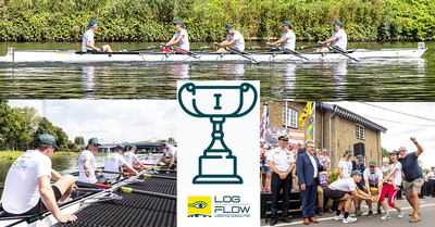 Logflow wint de KRB Corporate Challenge roeien